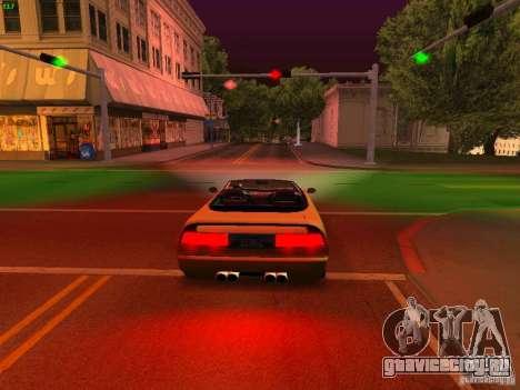 Infernus Revolution для GTA San Andreas вид сбоку