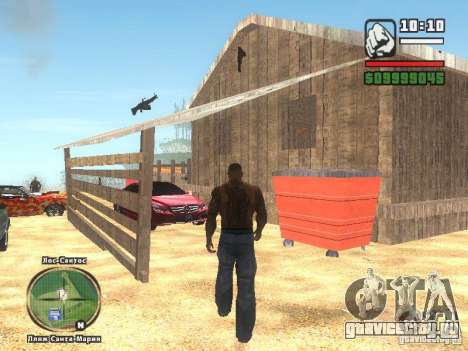 Новый Бар на пляже Верона для GTA San Andreas