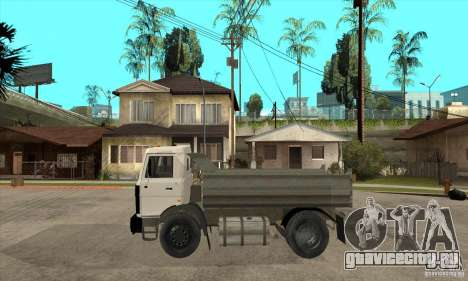 МАЗ 5551 Самосвал для GTA San Andreas вид слева