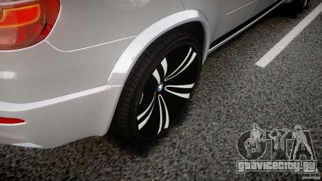 BMW X5M Chrome для GTA 4 колёса