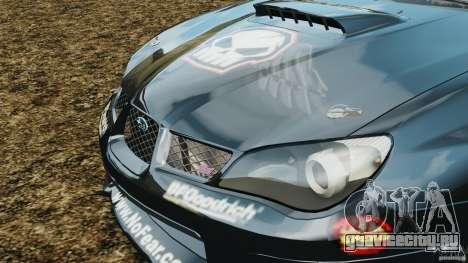 Subaru Impreza WRX STI N12 для GTA 4 вид сбоку