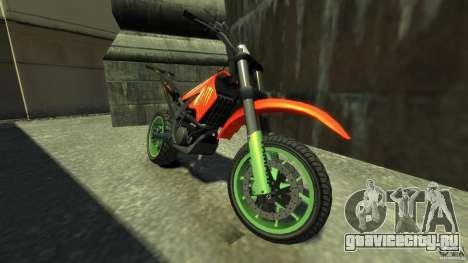 Stunt Supermotard Sanchez для GTA 4 вид слева