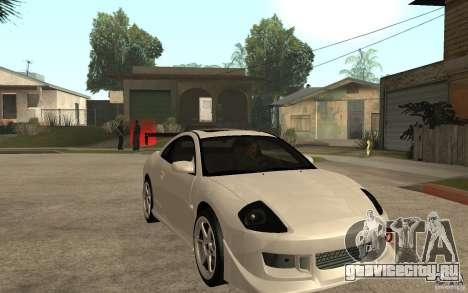 Mitsubishi Eclipse 2003 V1.5 для GTA San Andreas вид сзади