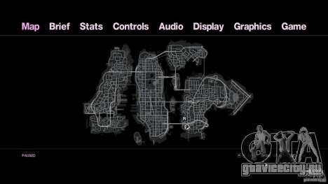 VC Style Radar/HUD (скин 3) для GTA 4 пятый скриншот