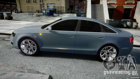 Audi A6 TDI 3.0 для GTA 4 вид слева