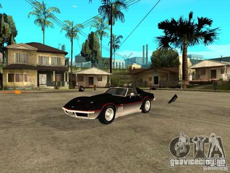 Chevrolet Corvette 1968 Stingray для GTA San Andreas