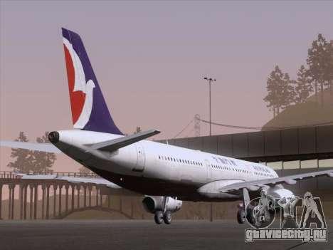 Airbus A321 Air Macau для GTA San Andreas вид справа