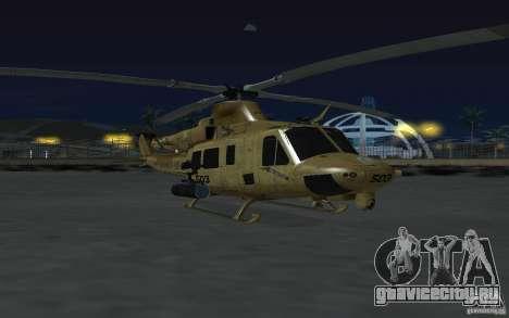 UH-1Y Venom для GTA San Andreas вид сзади