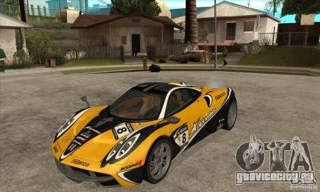 Pagani Huayra ver. 1.1 для GTA San Andreas