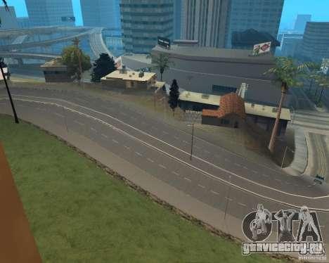 Новые дороги в Vinewoode (Los Santos) для GTA San Andreas