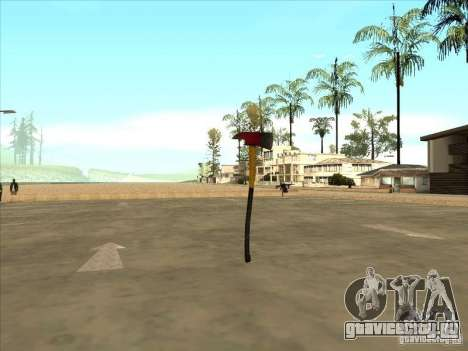 Топор из Killing Floor для GTA San Andreas