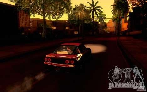 Nissan 180SX Kouki для GTA San Andreas вид справа