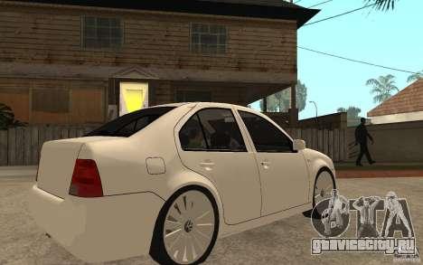 Volkswagen Bora PepeUz Edition для GTA San Andreas вид справа