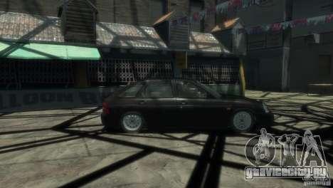 Ваз 2172 Приора Люкс для GTA 4 вид слева