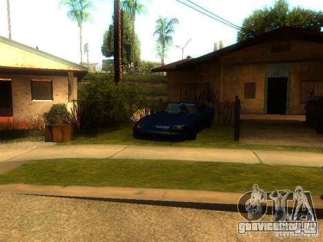 New Car in Grove Street для GTA San Andreas третий скриншот