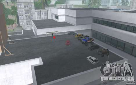Cars shop in San-Fierro beta для GTA San Andreas