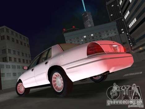 Ford Crown Victoria для GTA Vice City вид слева