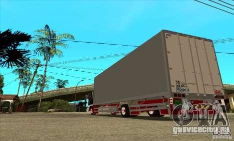 Hino Ranger для GTA San Andreas вид сзади слева