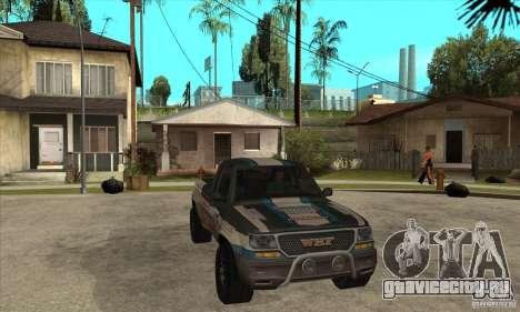 Nevada from FlatOut 2 для GTA San Andreas вид сзади
