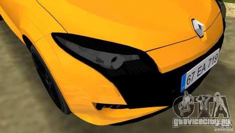 Renault Megane 3 Sport для GTA Vice City вид сбоку