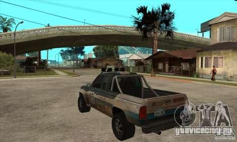 Nevada from FlatOut 2 для GTA San Andreas вид сзади слева