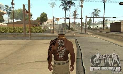 Tatu CJ для GTA San Andreas третий скриншот
