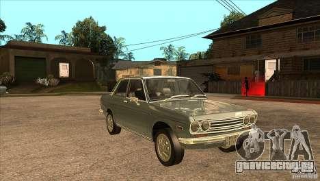 Datsun 510 для GTA San Andreas вид сзади
