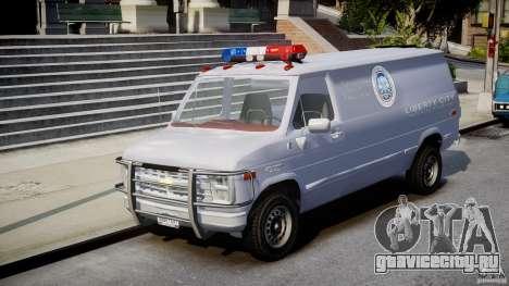 Chevrolet G20 Police Van [ELS] для GTA 4