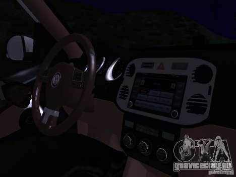 Volkswagen Tiguan 2.0 TDI 2012 для GTA San Andreas двигатель