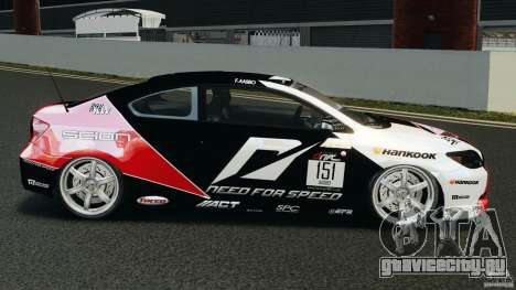 Scion TC Fredric Aasbo Team NFS для GTA 4 вид слева