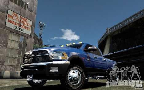 Dodge Ram 3500 Stock Final для GTA 4