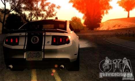 SA gline v4.0 Screen Edition для GTA San Andreas третий скриншот