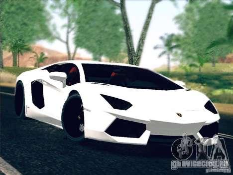 Lamborghini Aventador LP700-4 2011 V1.0 для GTA San Andreas