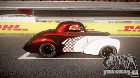 Willys Americar 1941 для GTA 4 вид слева