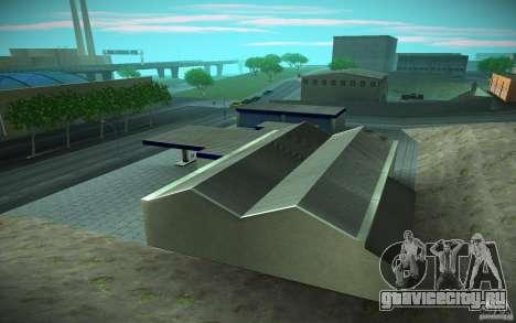 HD Garage in Doherty для GTA San Andreas четвёртый скриншот