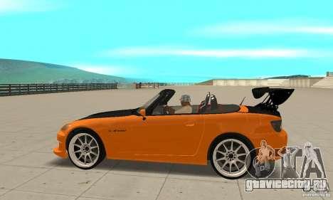 Honda Amuse R1 AP1 S2000 для GTA San Andreas вид слева