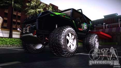 Tiger 4x4 для GTA San Andreas вид слева