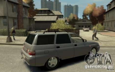 Lada ВАЗ 2111 для GTA 4 вид справа