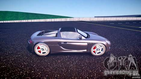 Porsche Carrera GT v.2.5 для GTA 4 вид слева