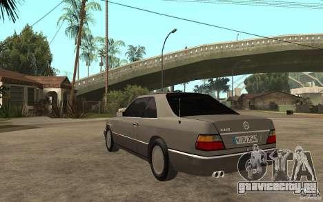 Mercedes-Benz E320 C124 для GTA San Andreas вид сзади слева