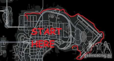 Ралли трек для GTA 4 восьмой скриншот