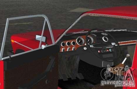 ВАЗ 2106 для GTA Vice City вид сбоку
