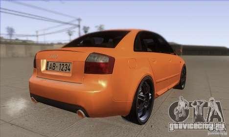Audi S4 DIM для GTA San Andreas вид справа