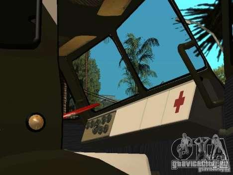 МАЗ 515В для GTA San Andreas вид сзади