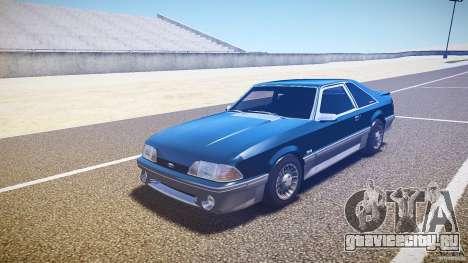 Ford Mustang GT 1993 Rims 1 для GTA 4