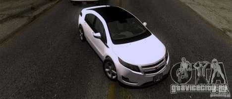 Chevrolet Volt 2012 Stock для GTA San Andreas