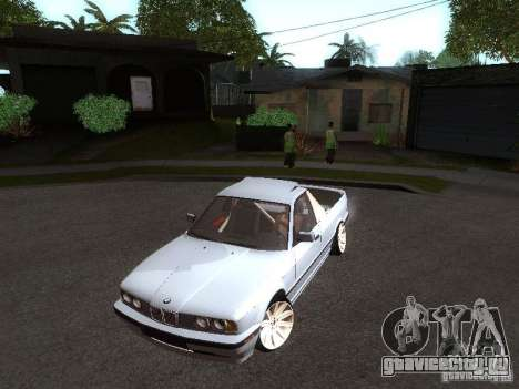 BMW E34 Pickup для GTA San Andreas вид слева