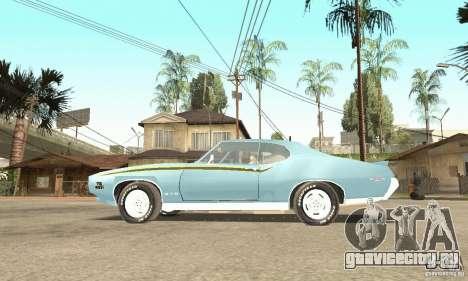 Pontiac GTO The Judge для GTA San Andreas вид справа