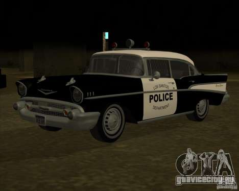 Chevrolet BelAir Police 1957 для GTA San Andreas