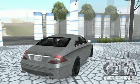 Mercedes-Benz CLS 63 AMG для GTA San Andreas вид сбоку